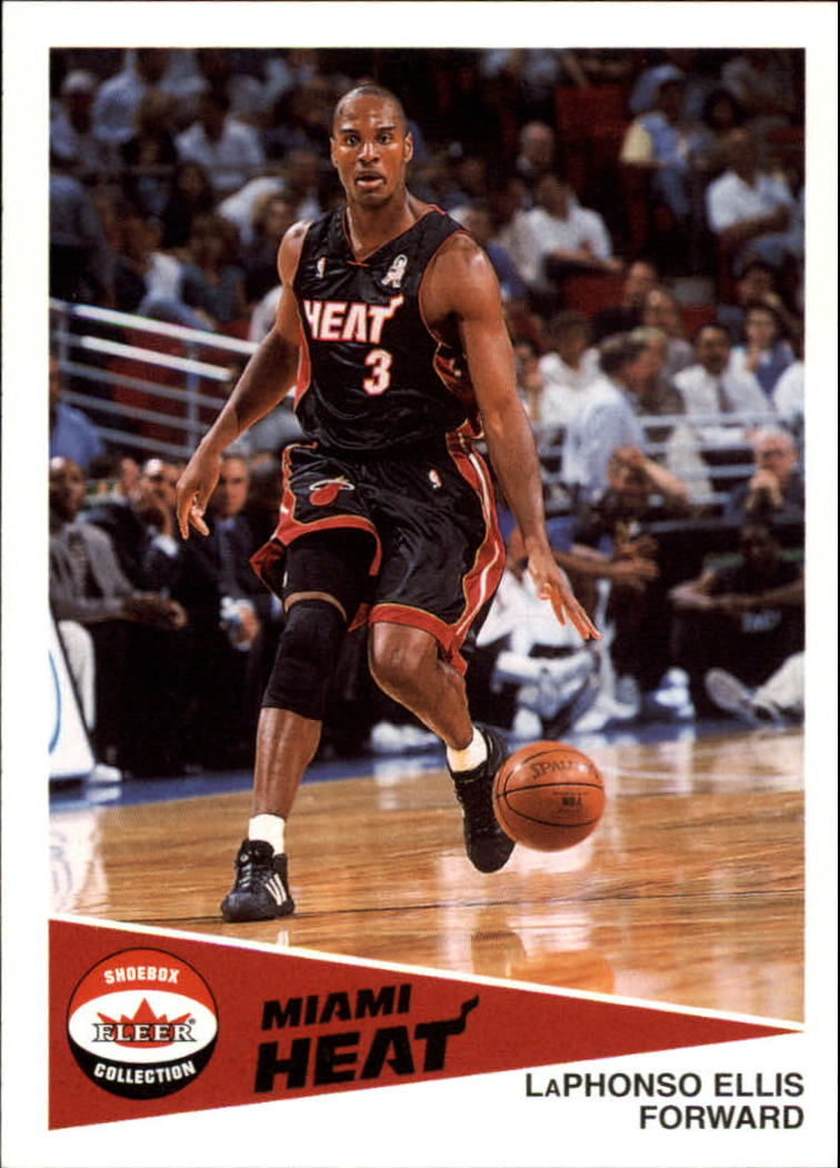 2001-02 Fleer Shoebox #76 LaPhonso Ellis