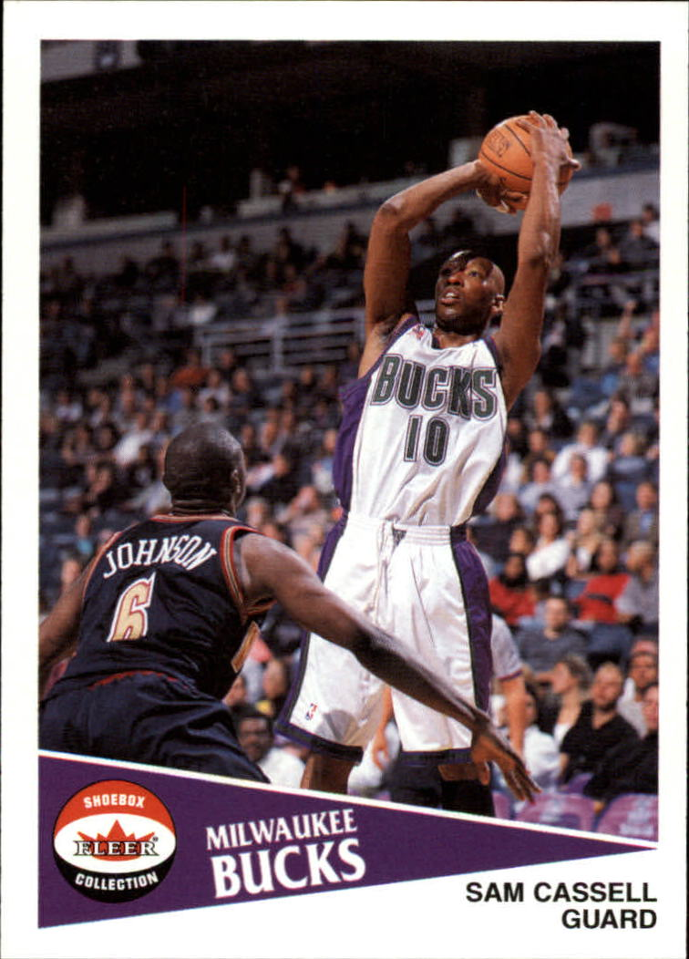 2001-02 Fleer Shoebox #77 Sam Cassell