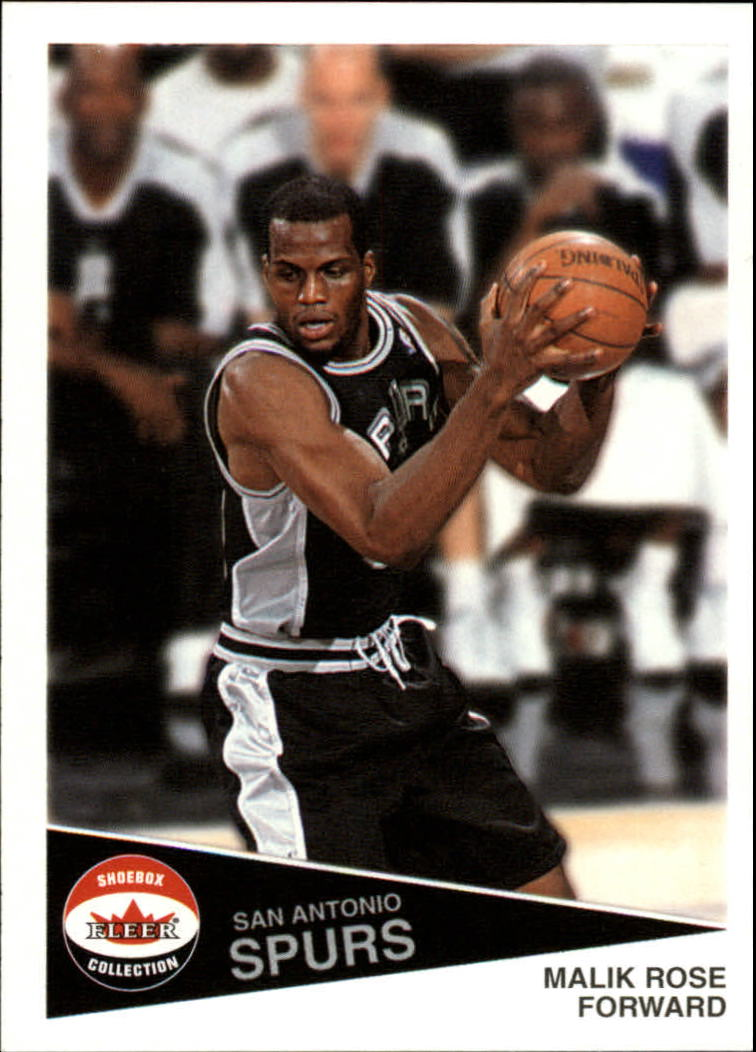2001-02 Fleer Shoebox #79 Malik Rose
