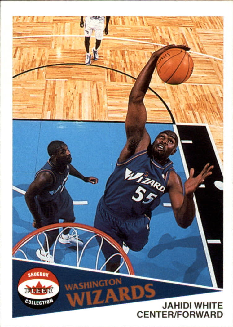2001-02 Fleer Shoebox #80 Jahidi White