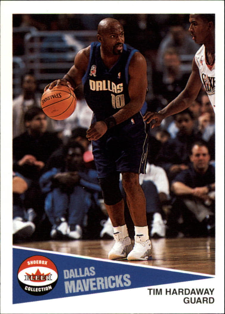 2001-02 Fleer Shoebox #82 Tim Hardaway