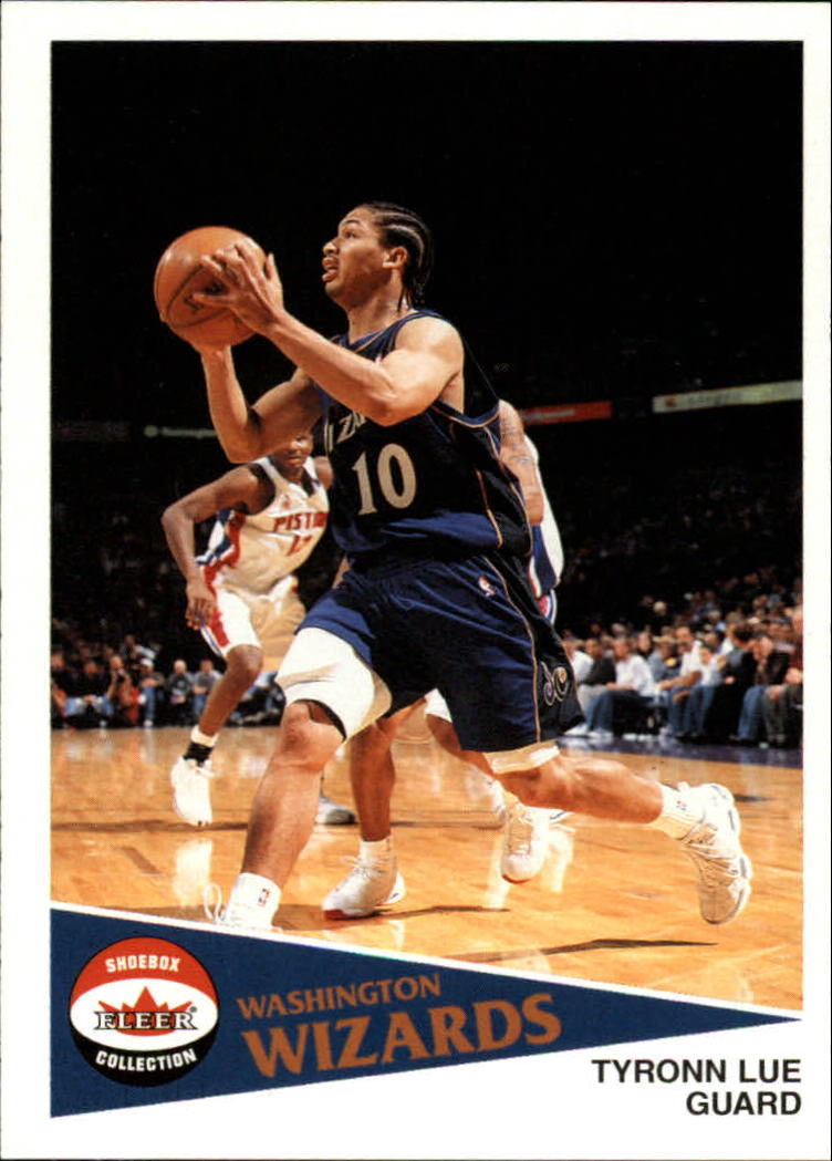 2001-02 Fleer Shoebox #84 Tyronn Lue