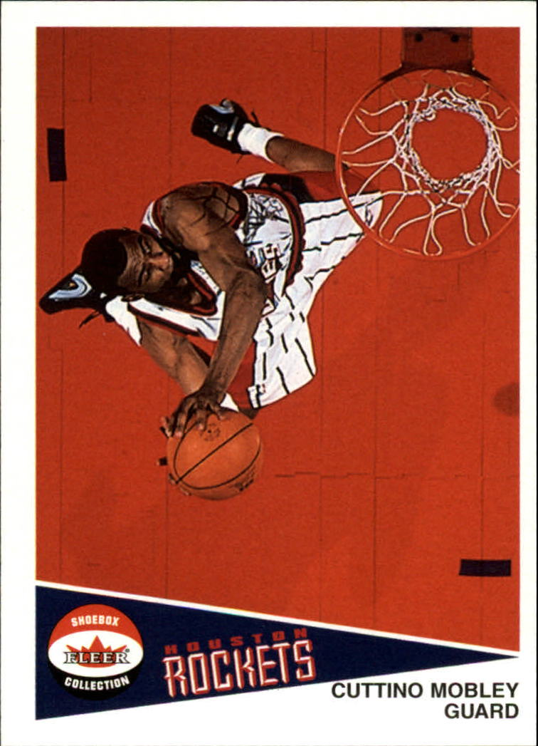 2001-02 Fleer Shoebox #85 Cuttino Mobley