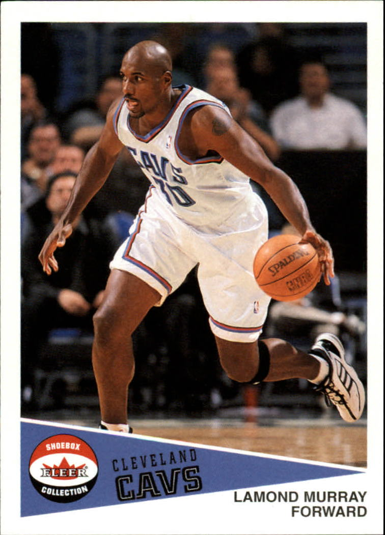 2001-02 Fleer Shoebox #87 Lamond Murray
