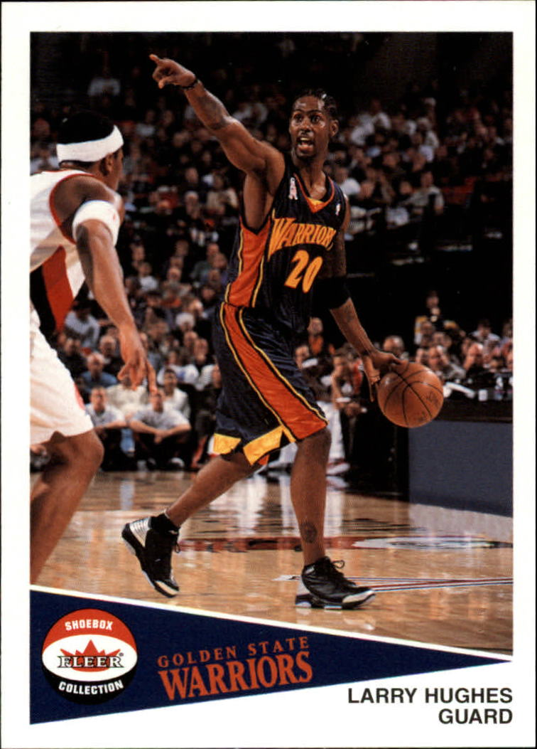 2001-02 Fleer Shoebox #88 Larry Hughes