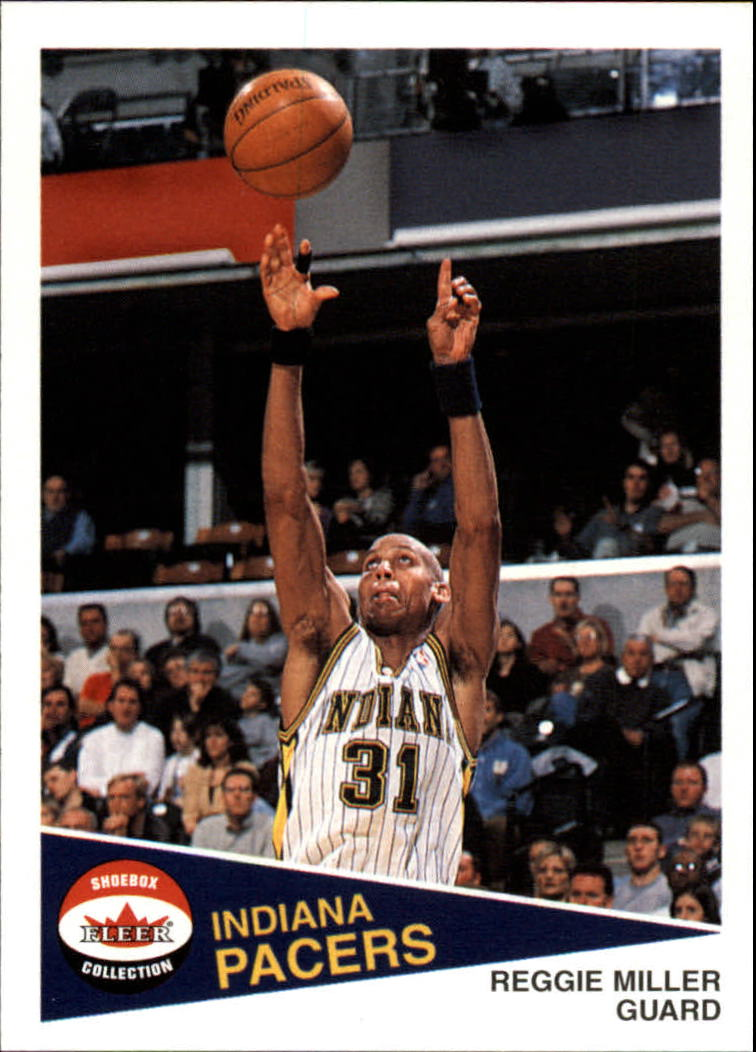 2001-02 Fleer Shoebox #89 Reggie Miller
