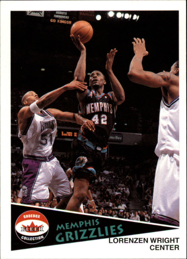 2001-02 Fleer Shoebox #90 Lorenzen Wright