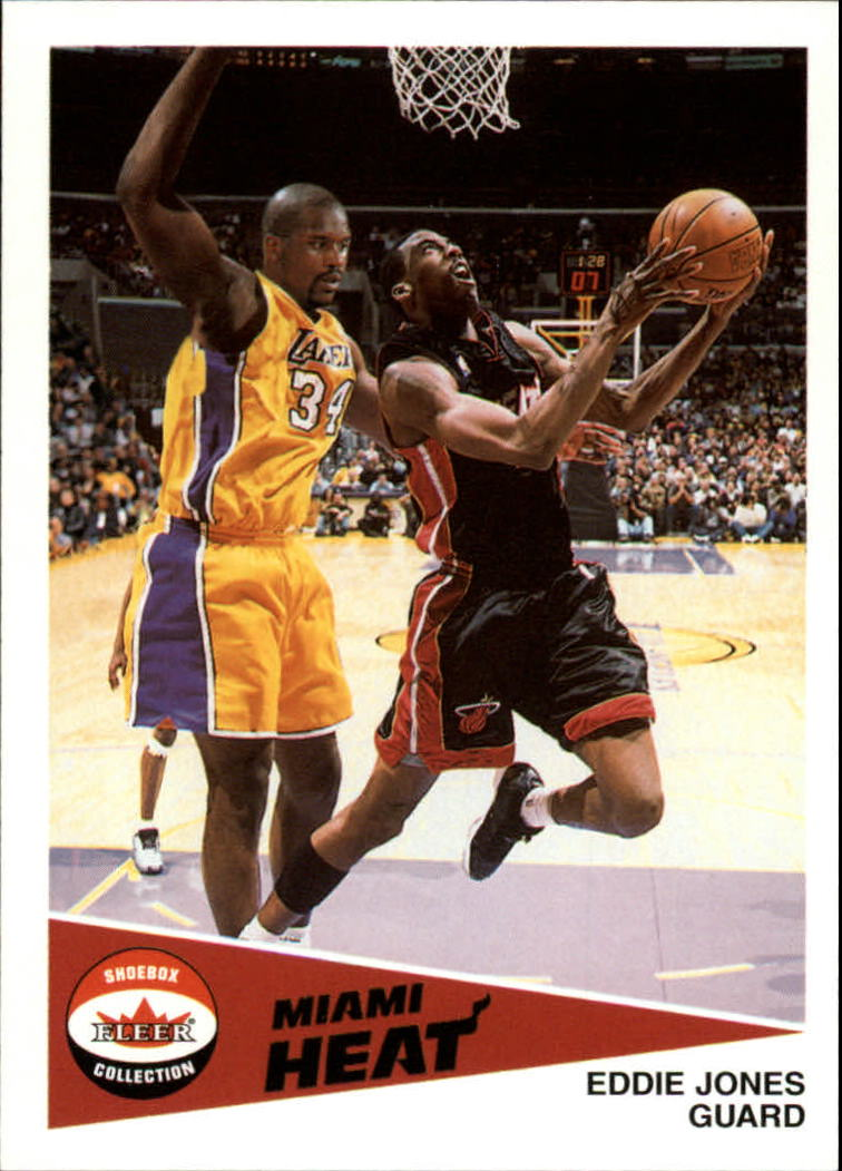 2001-02 Fleer Shoebox #91 Eddie Jones