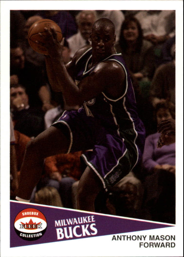 2001-02 Fleer Shoebox #92 Anthony Mason
