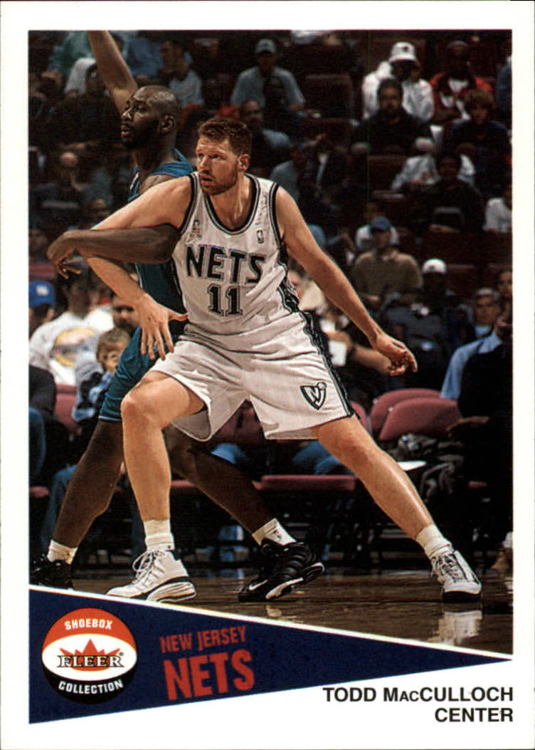 2001-02 Fleer Shoebox #93 Todd MacCulloch