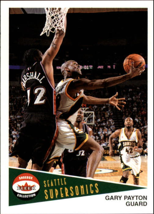 2001-02 Fleer Shoebox #96 Gary Payton