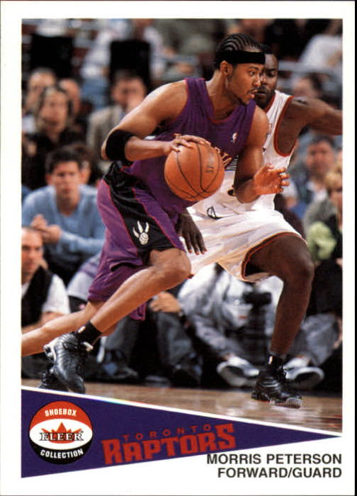 2001-02 Fleer Shoebox #97 Morris Peterson