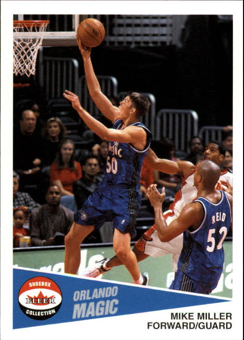 2001-02 Fleer Shoebox #98 Mike Miller