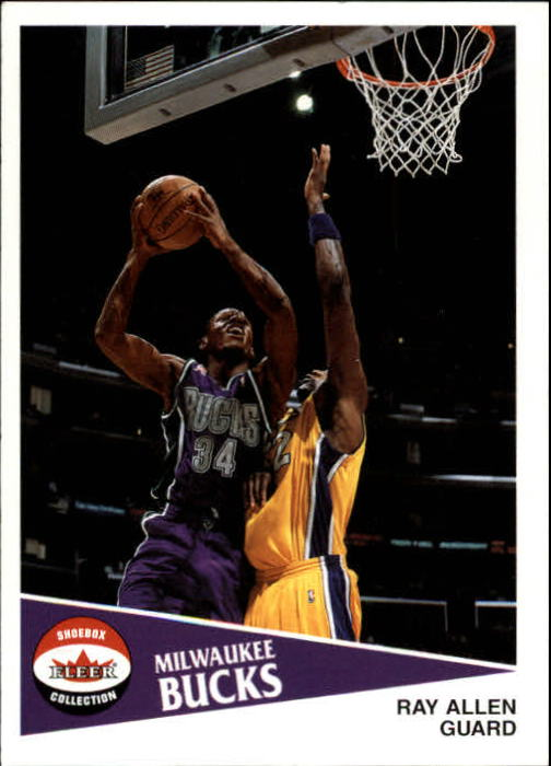 2001-02 Fleer Shoebox #102 Ray Allen