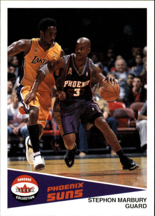 2001-02 Fleer Shoebox #104 Stephon Marbury
