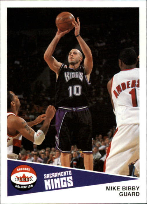 2001-02 Fleer Shoebox #105 Mike Bibby