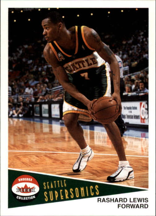 2001-02 Fleer Shoebox #106 Rashard Lewis