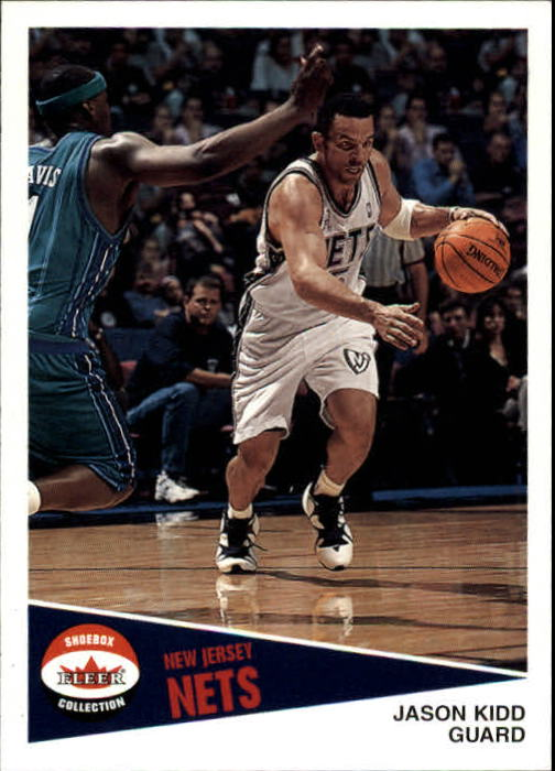 2001-02 Fleer Shoebox #107 Jason Kidd