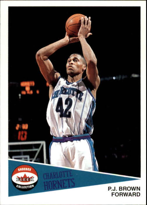2001-02 Fleer Shoebox #108 P.J. Brown