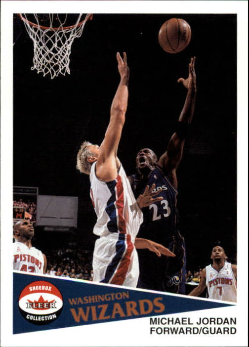 2001-02 Fleer Shoebox #137 Michael Jordan