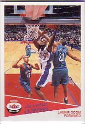 2001-02 Fleer Shoebox Footprints #113 Lamar Odom
