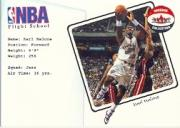 2001-02 Fleer Shoebox NBA Flight School #18 Karl Malone