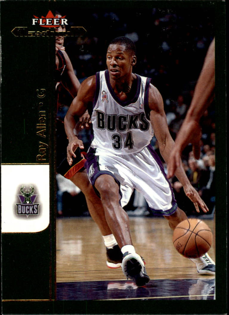 2001-02 Fleer Maximum #1 Ray Allen