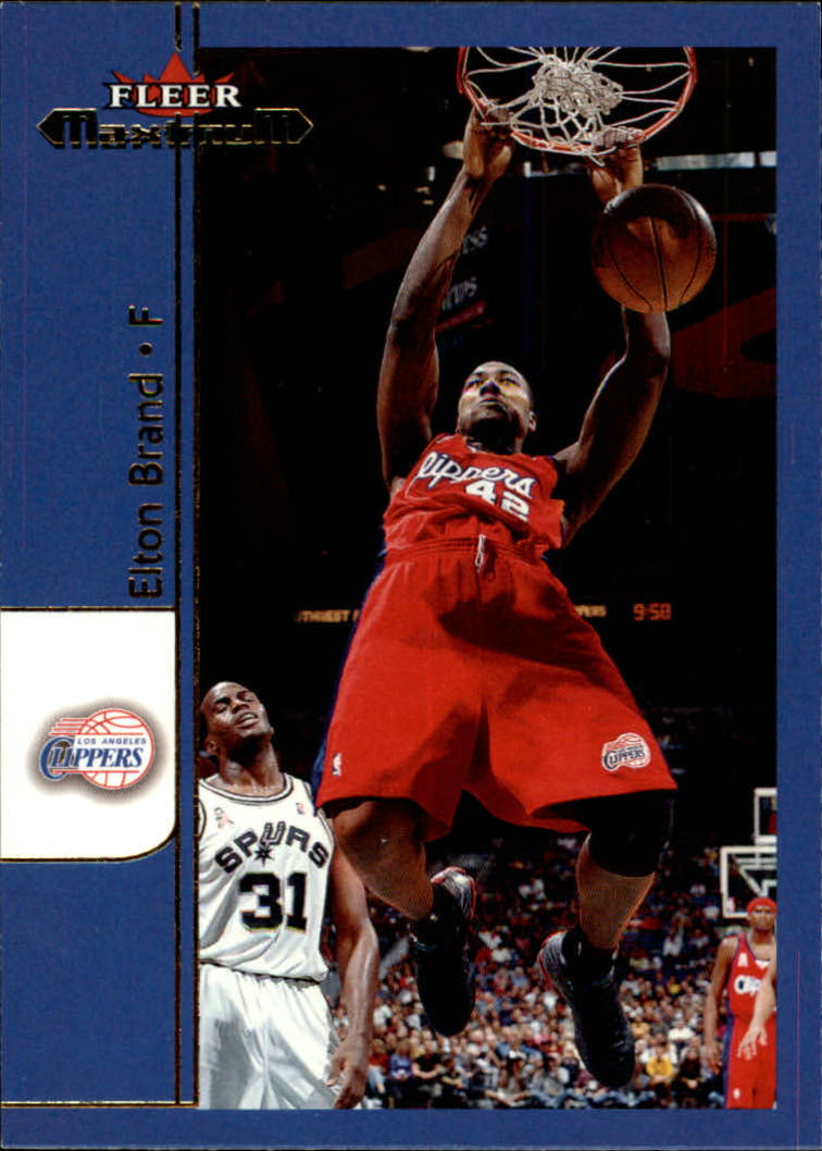 2001-02 Fleer Maximum #2 Elton Brand