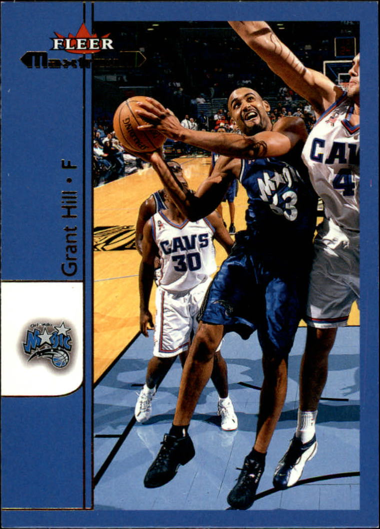 2001-02 Fleer Maximum #3 Grant Hill