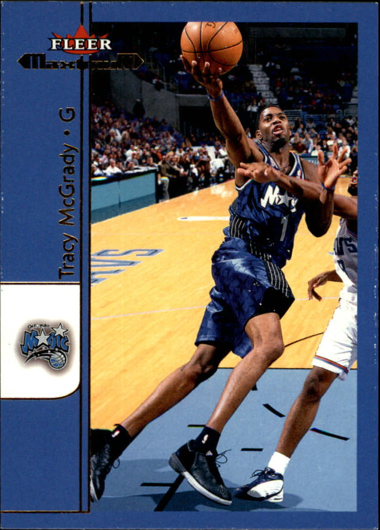 2001-02 Fleer Maximum #4 Tracy McGrady