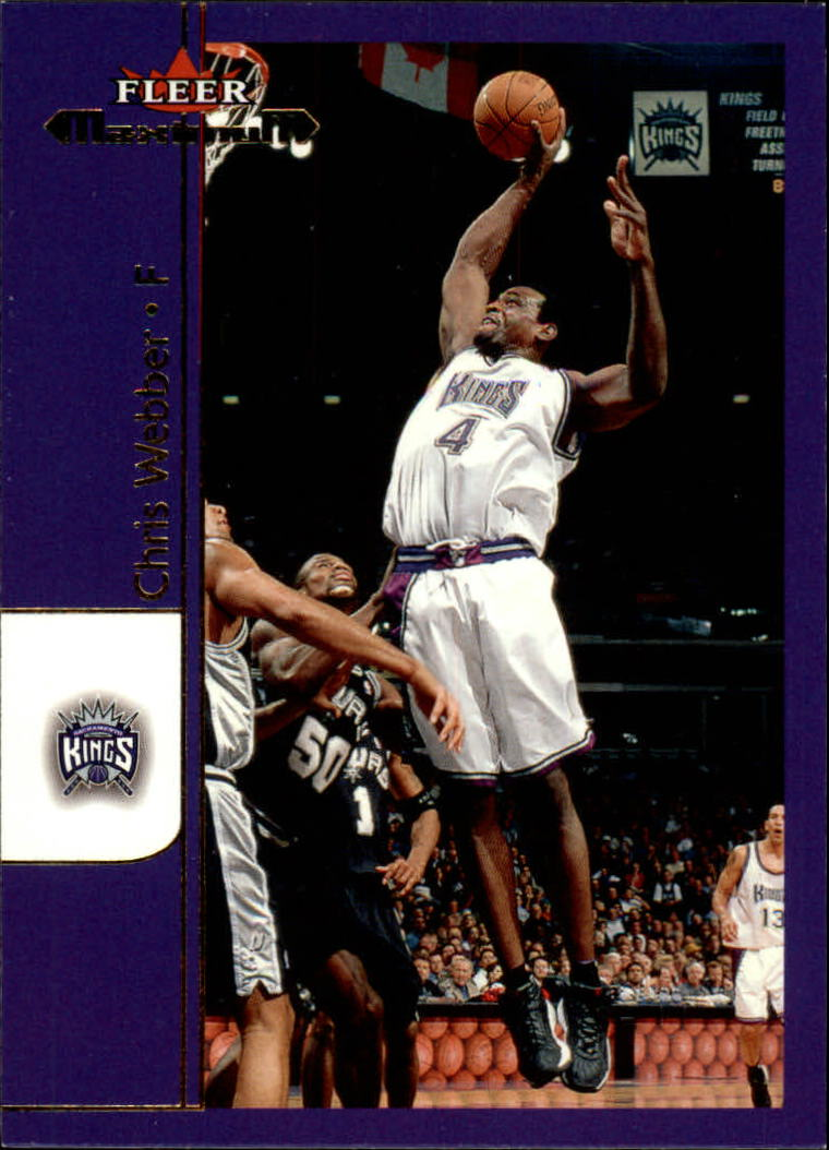2001-02 Fleer Maximum #5 Chris Webber