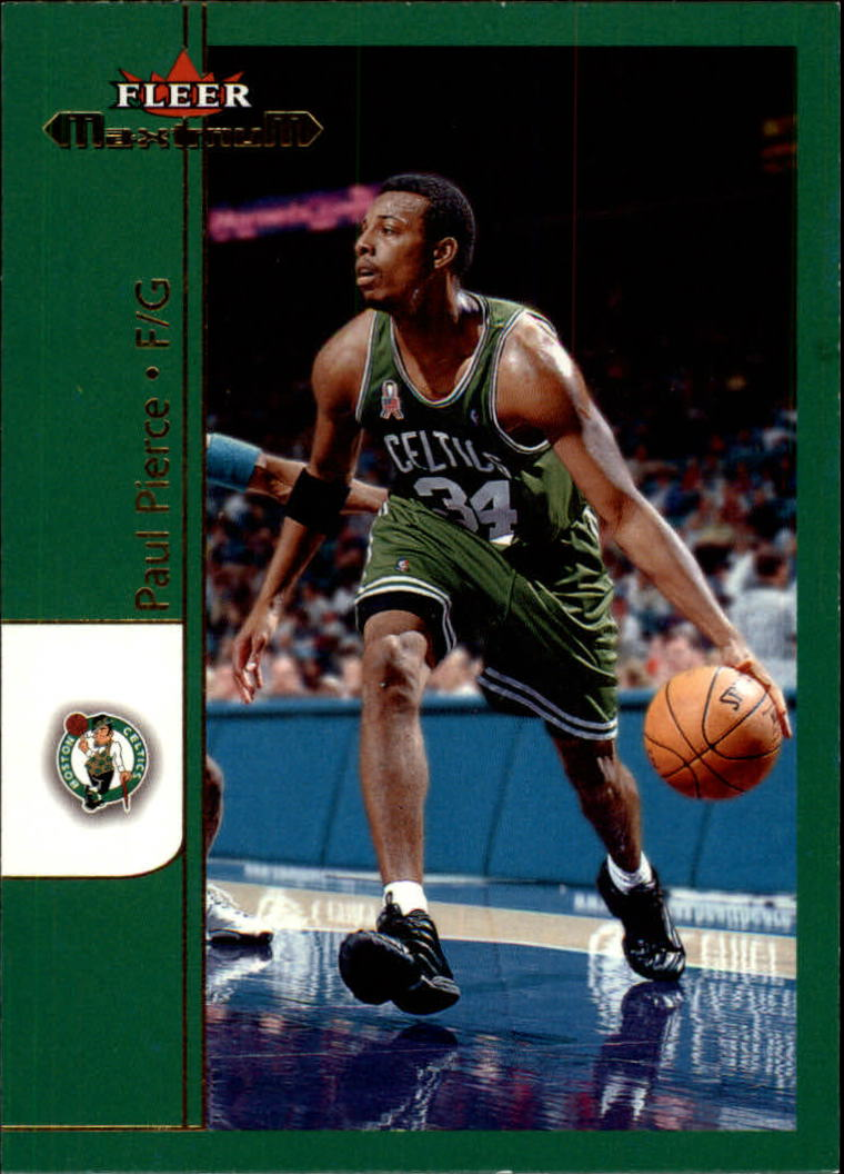 2001-02 Fleer Maximum #7 Paul Pierce