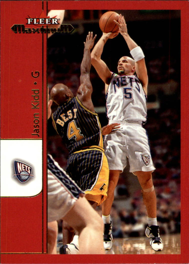 2001-02 Fleer Maximum #8 Jason Kidd
