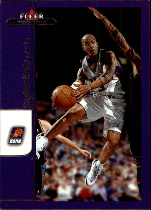 2001-02 Fleer Maximum #10 Stephon Marbury