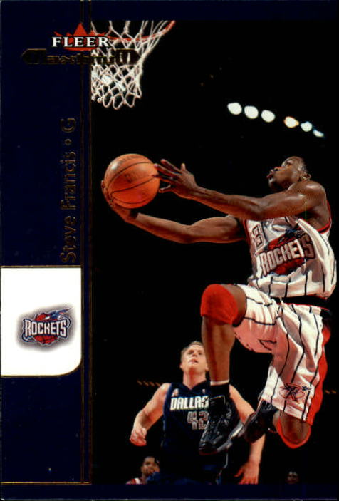 2001-02 Fleer Maximum #11 Steve Francis