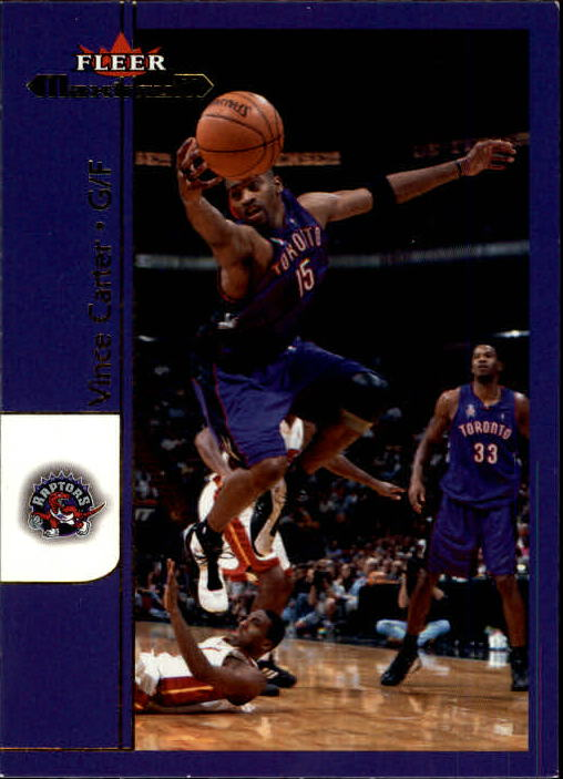 2001-02 Fleer Maximum #12 Vince Carter