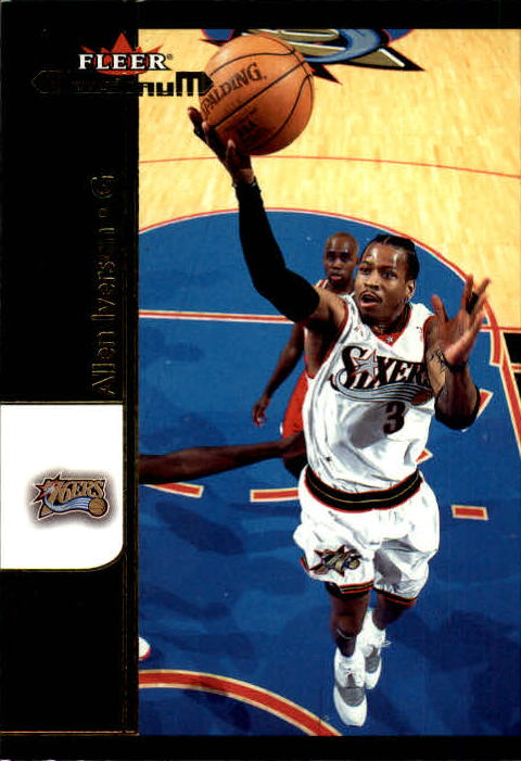 2001-02 Fleer Maximum #13 Allen Iverson