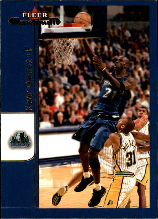 2001-02 Fleer Maximum #14 Kevin Garnett