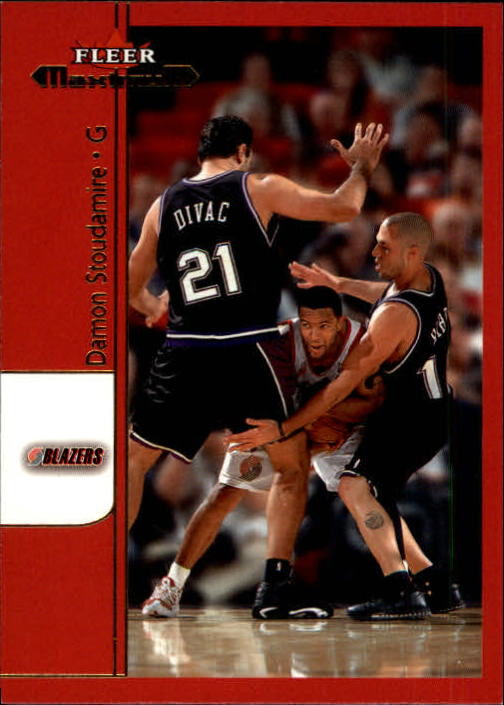 2001-02 Fleer Maximum #19 Damon Stoudamire