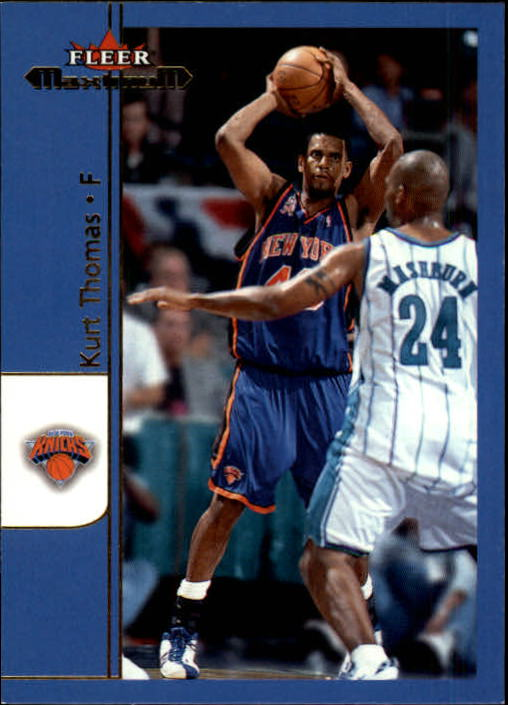 2001-02 Fleer Maximum #20 Kurt Thomas