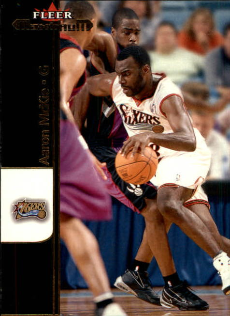 2001-02 Fleer Maximum #21 Aaron McKie