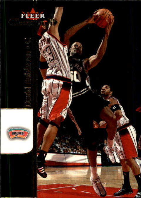 2001-02 Fleer Maximum #23 David Robinson