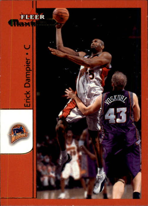 2001-02 Fleer Maximum #24 Erick Dampier