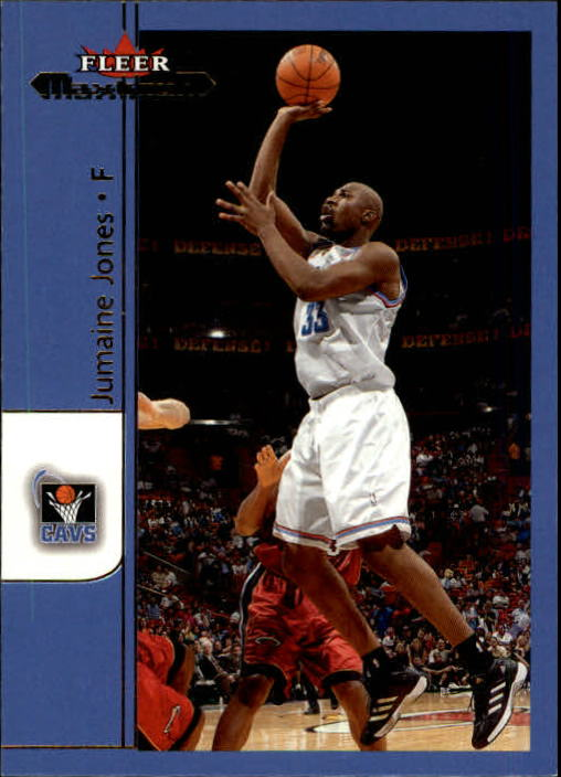 2001-02 Fleer Maximum #25 Jumaine Jones