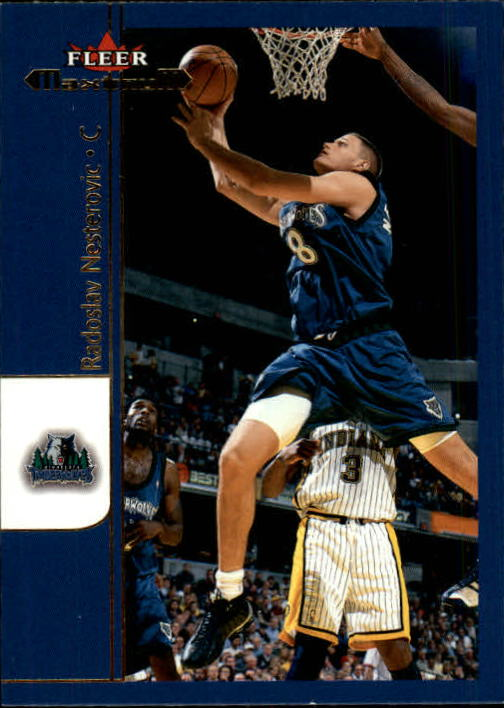 2001-02 Fleer Maximum #26 Radoslav Nesterovic