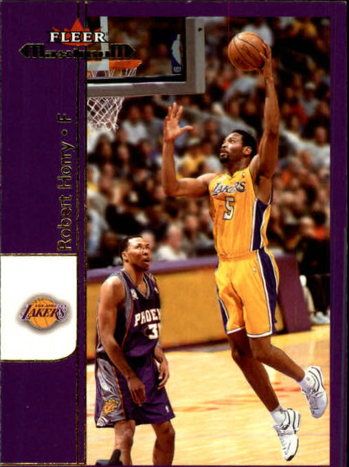 2001-02 Fleer Maximum #27 Robert Horry