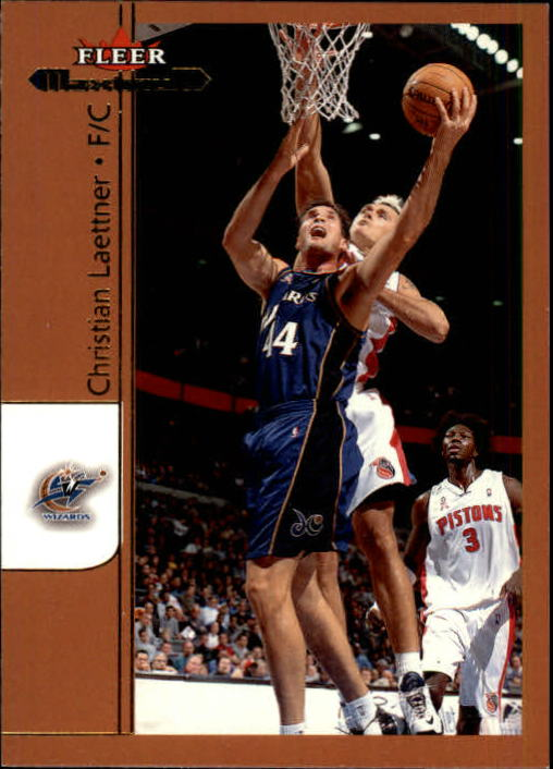 2001-02 Fleer Maximum #29 Christian Laettner