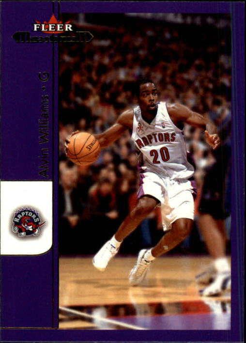2001-02 Fleer Maximum #31 Alvin Williams