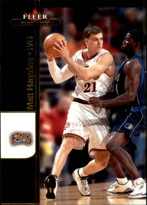2001-02 Fleer Maximum #32 Matt Harpring