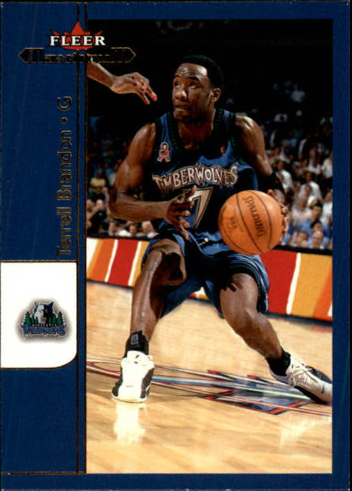 2001-02 Fleer Maximum #33 Terrell Brandon